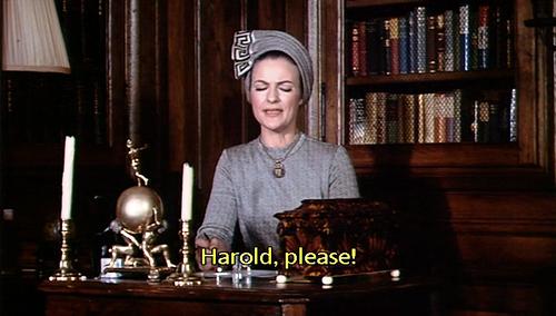Harold, please