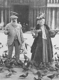 Claude Monet pigeons