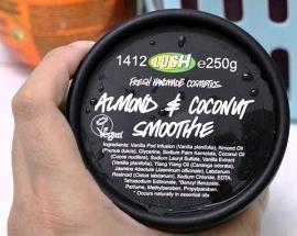 Skin cream from Lush.