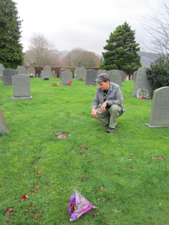 Finding Donald Watson's grave, and a surprise (for me): Dorothy is buried there too.