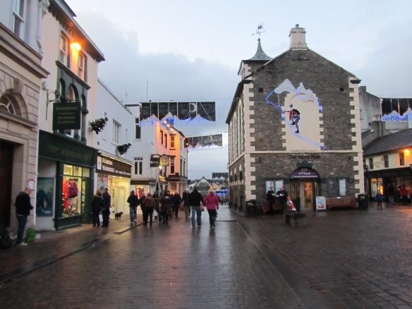 Bell Close, Keswick Town Square.