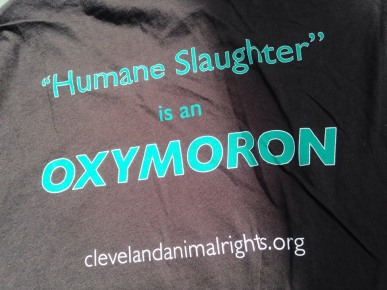 Humane slaughter is an oxymoron